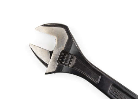 Adjustable wrench isolated