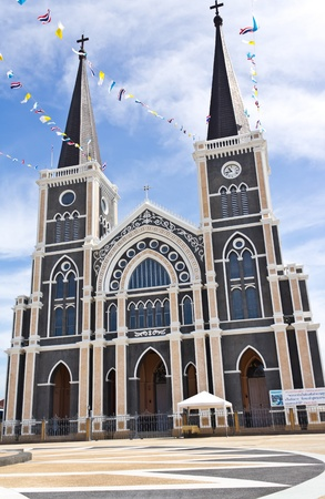 Catholic church at Chantaburi province, Thailand.  Stock Photo - 11580668