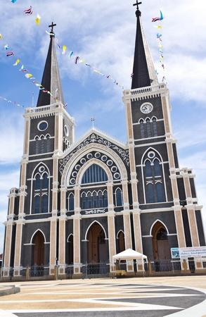 Catholic church at Chantaburi province, Thailand.  Stock Photo - 11580668