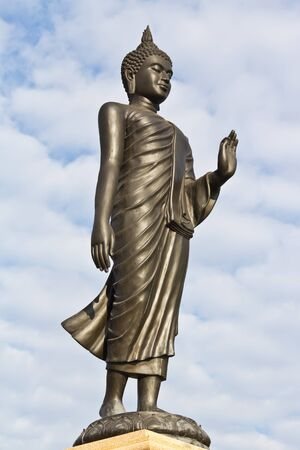 Buddha statue in thailand temple