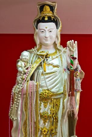 Guanyin image of buddha Stock Photo