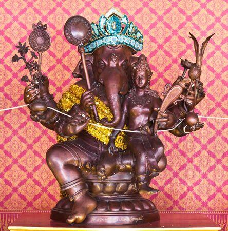 Ganecha statue at Thailand temple Editorial