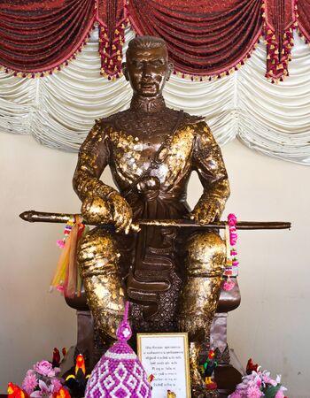 Statue of ancestor of thai people Stock Photo