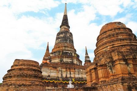 Temple in Ayutthaya Historical Park , Thailand  Stock Photo