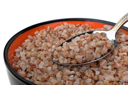 kasha: Cooked cereal of buckwheat kasha