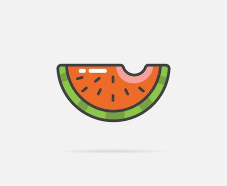smack: Illustration of Watermelon