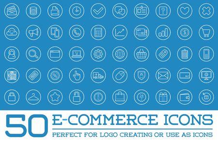 ecommerce icons: Set of E-Commerce Icons