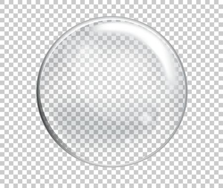 Burbujas de agua de jabón Ilustración de vector