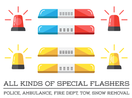 dept: Special Flashers of Emergency Dept Department