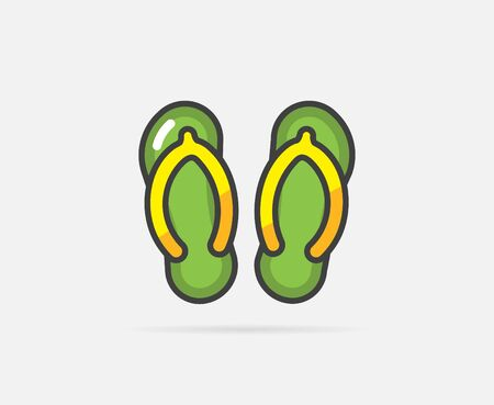 flip flops: Illustration of Flip Flops