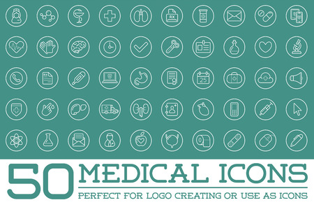latex glove: Medicine Health Vector Symbols Icons Illustration