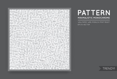 Vector witte abstracte achtergrond met naadloze willekeurige zwarte monochroom cijfers