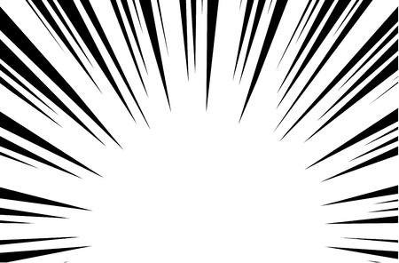 Line Art Of Sun : Sun rays for comic books radial background vector royalty free