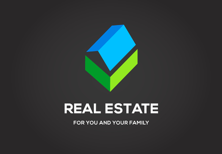 real estate agency: Template  for real estate agency or cottage town elite class.