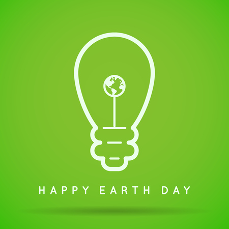 Vector Earth Day, Eco Day Illustration