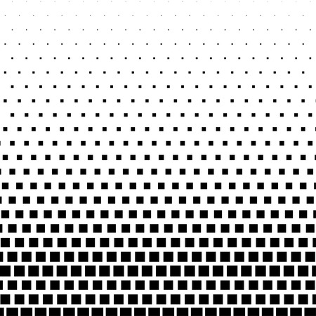 prepress: Rectangle Halftone Element, Monochrome Abstract Graphic. Ready for DTP, Prepress or Generic Concepts.