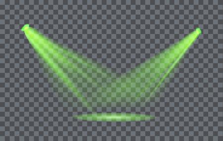 fx: Vector Light Effect Spotlight with Transparent Background Illustration