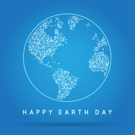starfield: Vector Earth Day, Eco Day Illustration