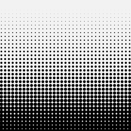 prepress: Circle Halftone Element, Monochrome Abstract Graphic. Ready for DTP, Prepress or Generic Concepts.