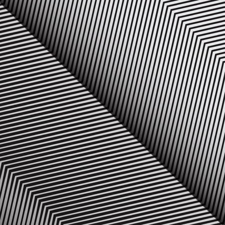 diagonal lines: Diagonal Oblique Edgy Zigzag Lines Pattern in Vector Illustration