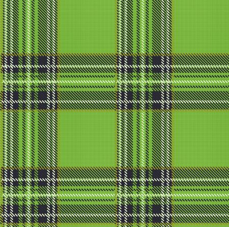 tartan plaid: Seamless Tartan Plaid Vector Pattern Background with Fabric Texture Illustration