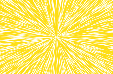 hyper: Sun Rays for Comic Books Radial Background Vector Illustration