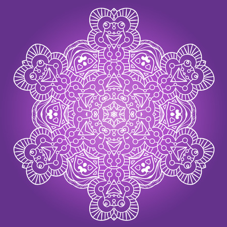 design visionary: Ethnic Fractal Meditation Mandala Vector