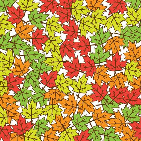 Autumn Fall Minimal Design Vector Leaves