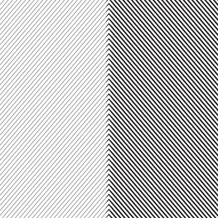 Diagonal Oblique Edgy Lines Pattern in Vector Ilustração
