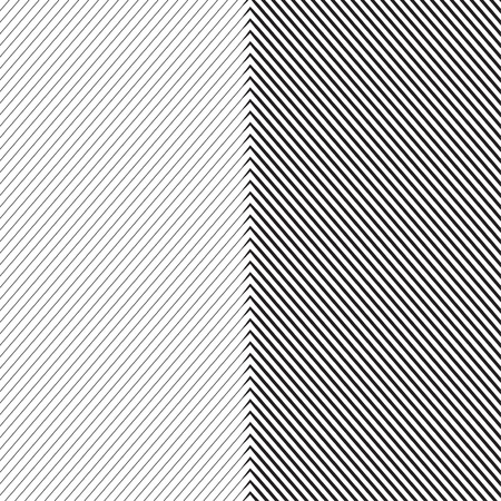 Diagonal Oblique Edgy Lines Pattern in Vector Illustration