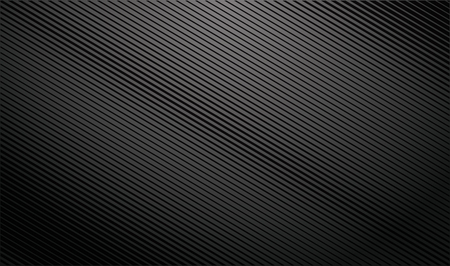 Gradient dark background with diagonal stripes. Lighting beam. Illustration