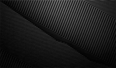 Gradient dark background with diagonal stripes. Lighting beam. Vector Illustration. Ilustracje wektorowe
