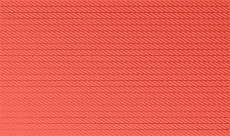 Coral Trendy Color Background with Diagonal Stripes. Vector illustration.
