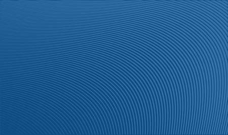 Classic Blue Trendy Color Background with Stripes. Vector Illustration.