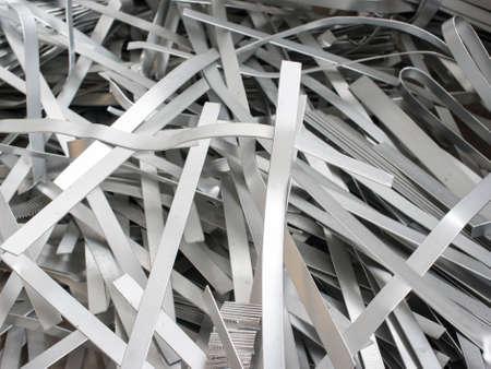 bribe: Ferraille d'aluminium métallique
