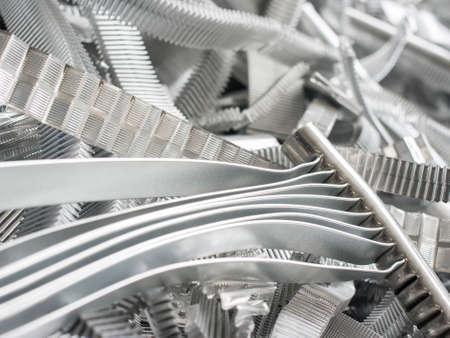 Altmetalle Aluminium Standard-Bild