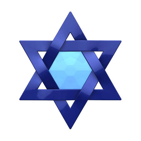 Judaism Religious Symbol Star Of David Stock Photo Picture And