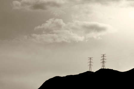 power transmission tower photo