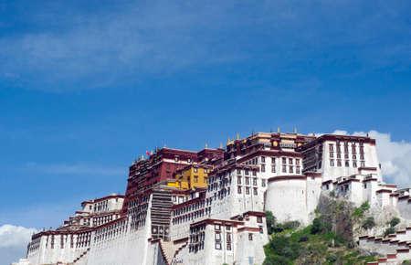 tibet: the Potala Palace, Lhasa, Tibet