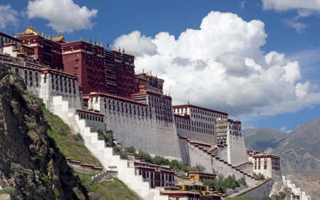 potala: the Potala Palace, Lhasa Editorial