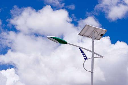 carbon emission: Solar LED Street Light