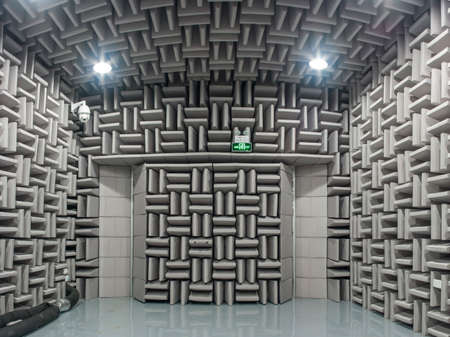 Anechoic Research Lab with Test Dummy