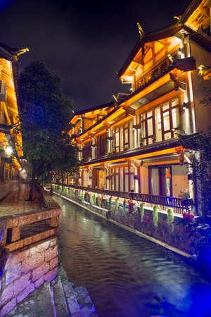 Night of Lijiang, Yunnan, China