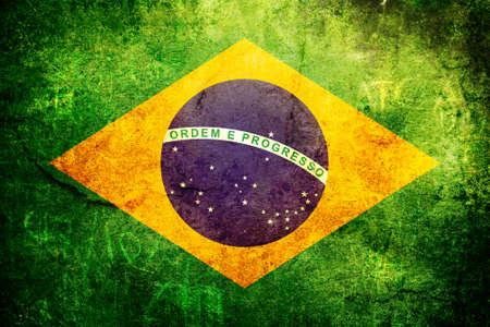 ブラジル状態の古いグランジ フラグ
