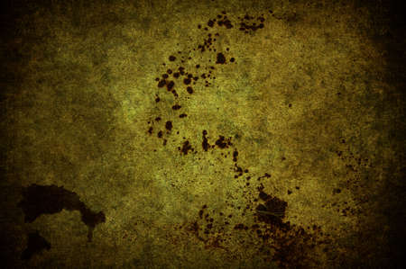 A cracked light yellow grunge concrete background Stock Photo - 7654934