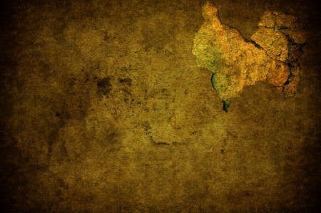 A cracked light yellow grunge concrete background Stock Photo - 7654935