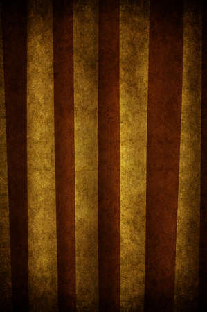 An old and grunge curtain with strips white and brown Stock Photo - 7654841