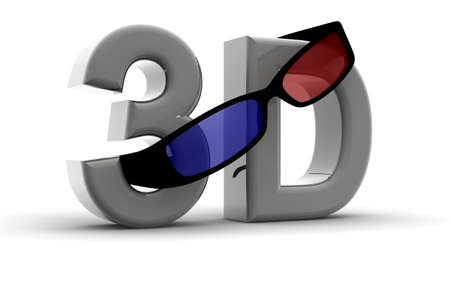 stereoscopic: Glasses for 3D vision on a