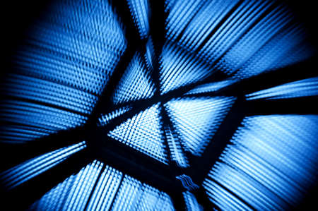 A blue abstract image of top of a palace Stock Photo - 8975300