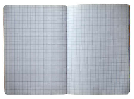 An opened book with many white squares Stock Photo - 9753994